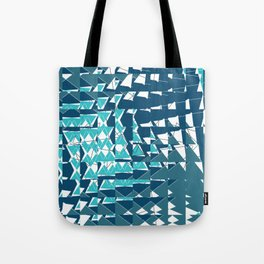Marine Prism Tote Bag