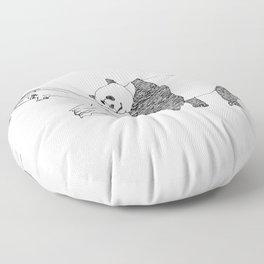 Panda Floor Pillow