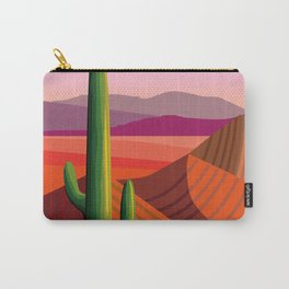 Phoenix Arizona Travel Poster Carry-All Pouch