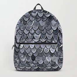MAGIC MERMAID CLASSIC GREY by Monika Strigel Backpack