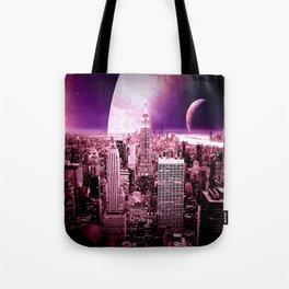 New New York : Galaxy City Tote Bag