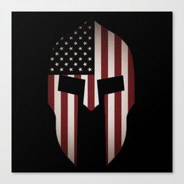 USA Spartan  Canvas Print