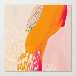 The Abstract Shape Of Spring Canvas Print