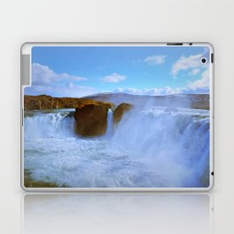Soothing Cascades Laptop & iPad Skin
