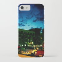 fargo iPhone & iPod Cases featuring Fargo City Nights One, 2011 by Libby Walkup Photography