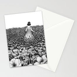 The Field of Poppies Stationery Cards