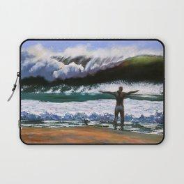 Vitruvian Surfer Laptop Sleeve