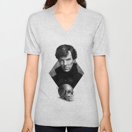 The high-functioning sociopath Unisex V-Neck