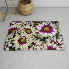 Multi color daisies! Rug