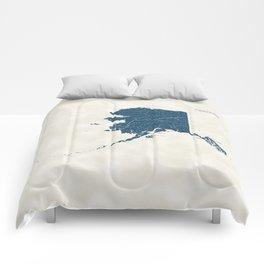 Alaska Parks - v2 Comforters