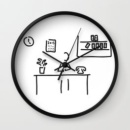 administration office Wall Clock
