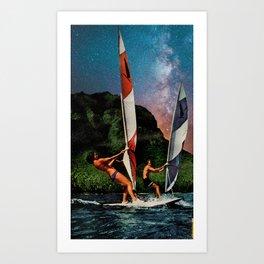 Big Water Art Print