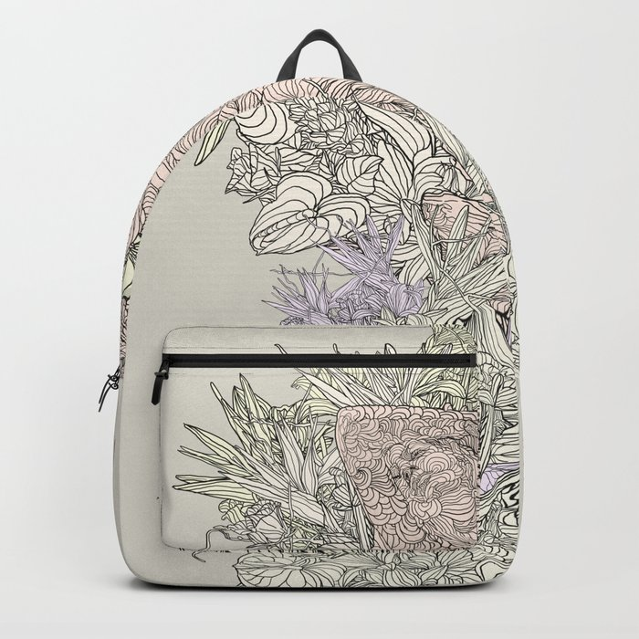 Contrast of life Backpack