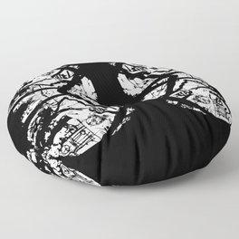 Butterfly Lungs Floor Pillow
