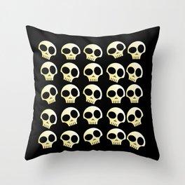 Skulls!!! Throw Pillow