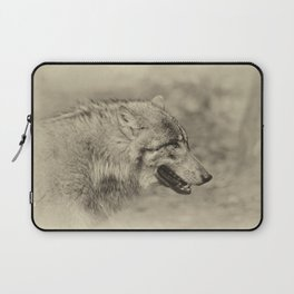lonesome wolf Laptop Sleeve
