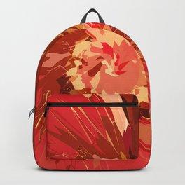 Fall Flower Backpack