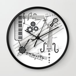 Musical Masterpiece Wall Clock