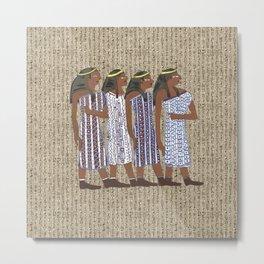 ancient egyptians Metal Print
