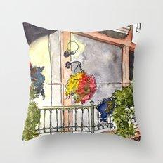 Fifth Street  Throw Pillow
