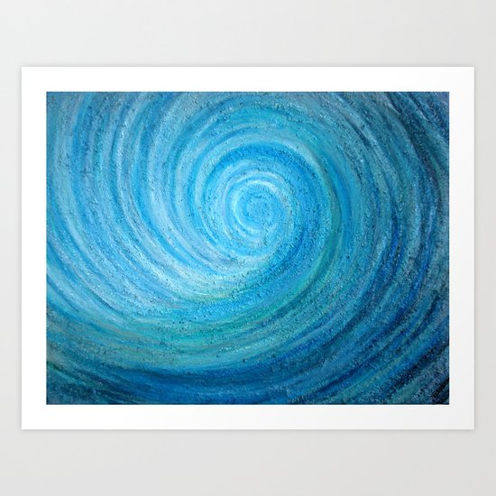 Barrel Wave Art Print