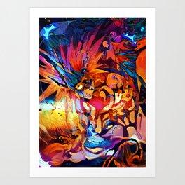 Colorful Boros Art Print