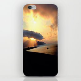 early riser#2 iPhone Skin