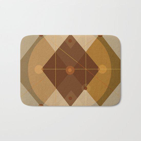 Geometric/Abstract 9 Bath Mat