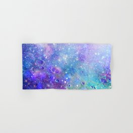 Colorful Deep Space Background Hand & Bath Towel