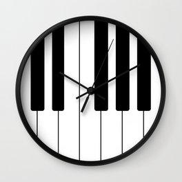 Piano Keys - Music Wall Clock