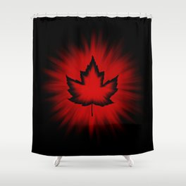 Cool Canada Souvenirs Shower Curtain