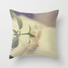 Make time to smell the roses Throw Pillow