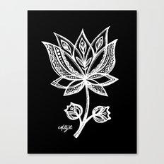 White Flower 94 Canvas Print
