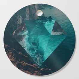 The Sea's Diamond Cutting Board