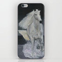White Horse Freedom iPhone Skin