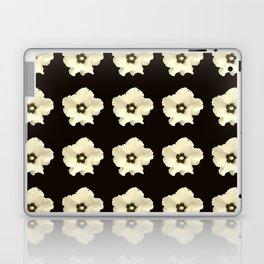 Sepia flower -bloom,blossom,petal,floral,leaves,flor,garden,nature,plant. Laptop & iPad Skin