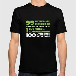 Little bugs in the code T-shirt