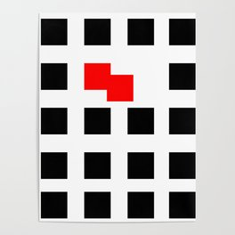 No Touching (Square) Poster
