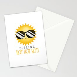 Feeling Hot Hot Hot! Stationery Cards