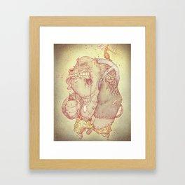 Kazooies and Banjos Framed Art Print