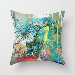 Live Iife Inspired Throw Pillow