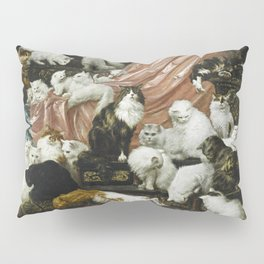 My Wife's Lovers - Carl Kahler Pillow Sham
