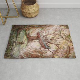 Fisherman of the Forest Rug