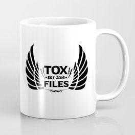Tox Files - Black on White Coffee Mug