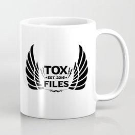 Tox Files - Black on White Coffee Mug