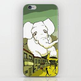 The White Elephant iPhone Skin