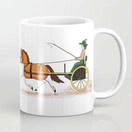 Tally-ho to town we go!  Coffee Mug