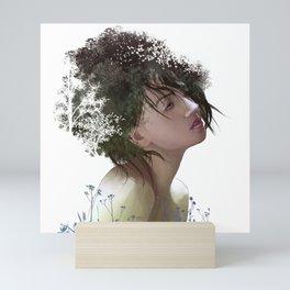 Natural Hair Mini Art Print