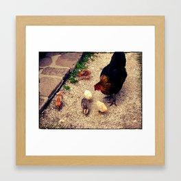 Little Family Framed Art Print