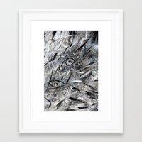illusion Framed Art Prints featuring Illusion by Nika Akin